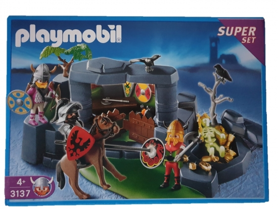 Playmobil Wikinger Superset Ritterangriff 3137