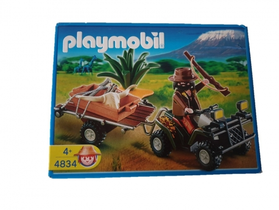 Playmobil Wilderer-Quadgespann 4834